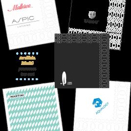 Servilletas 20×20 – 2 y 3 capas Personalizadas
