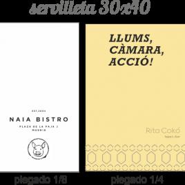 Serv 30×40 – 1, 2, 3 capas Personalizadas