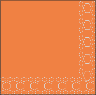 Oferta serv 30×30-2 capas naranja
