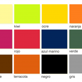 Estovalles Individuals Colors