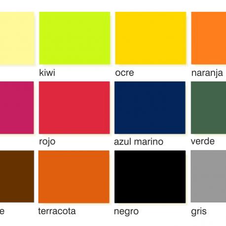 mantel indiv fondos colores