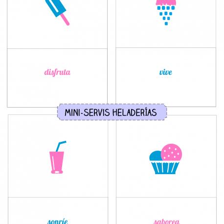 mini-servis HELADERÍAS 2
