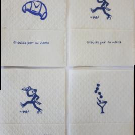"""Mini-servis """"GRACIAS X SU VISITA"""""""
