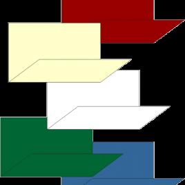 Súper-servis 17×34 Blanca y Colores