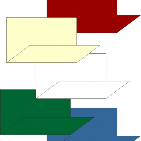 super-servis blanca y colores